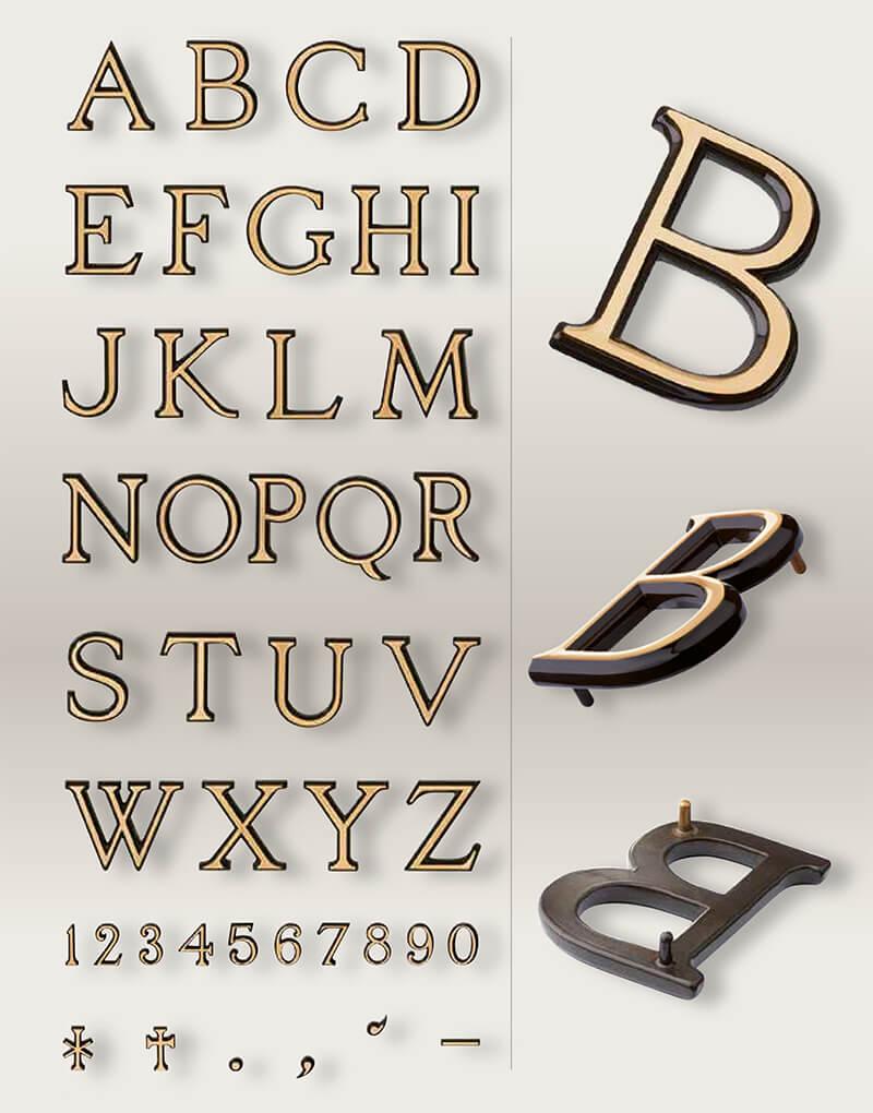 Tipografia Bronce LYDIAN