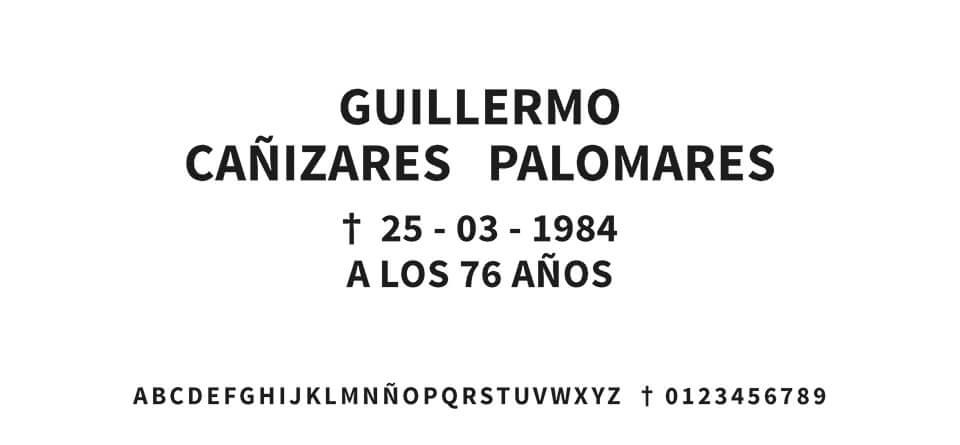 Tipografia MORENO RECTA #02