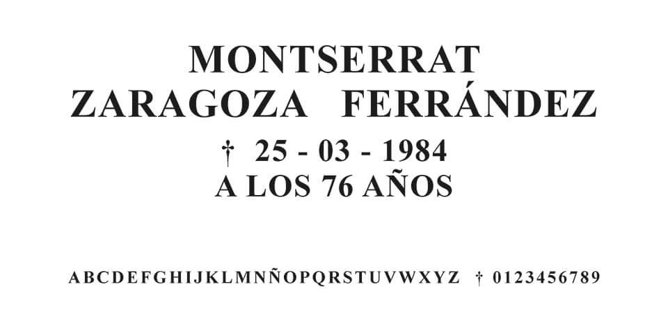 Tipografia MORENO ROMANA #02