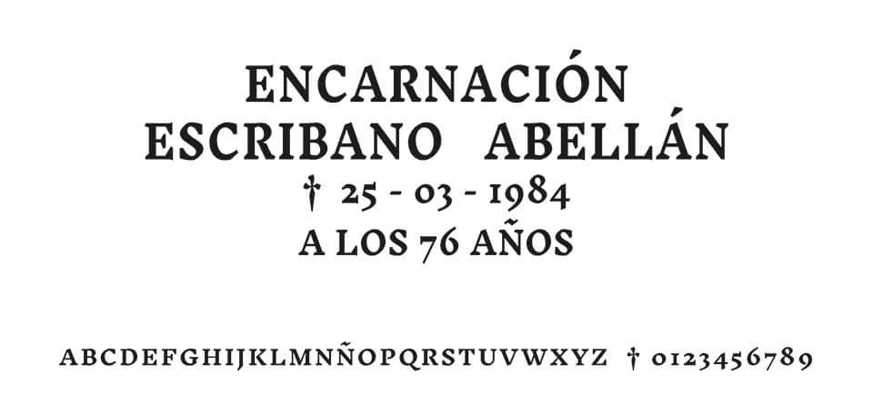 Tipografia MORENO ROMANA #03