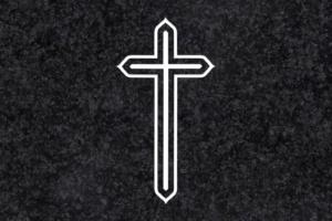 Diseño para Grabado Cruz doble 018