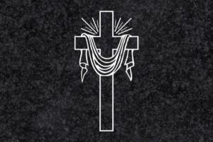 Diseño para Grabado Cruz con sábana 225
