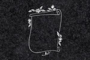 Diseño para Grabado Pergamino 198