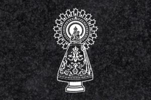 Diseño para Grabado Virgen del Pilar