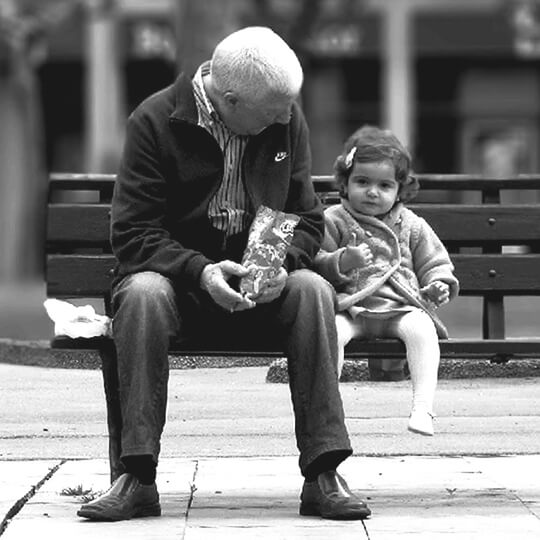 Frases para un abuelo fallecido de su nieta