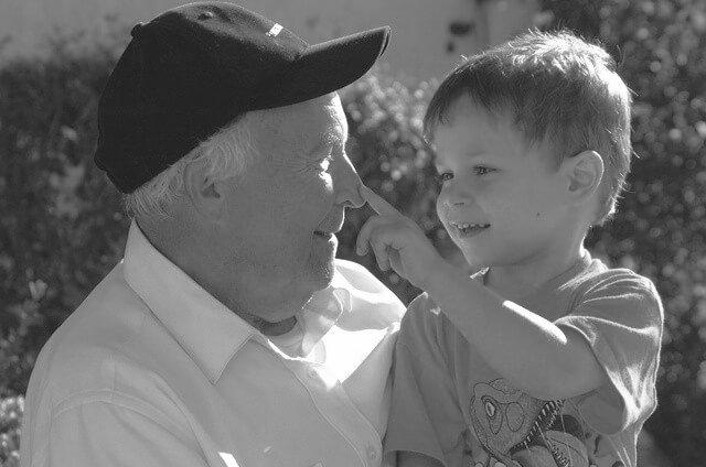Recuerdo de un abuelo fallecido