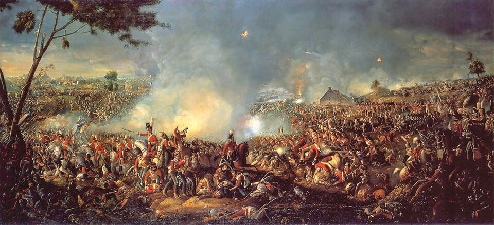 Batalla de Waterloo de 1815