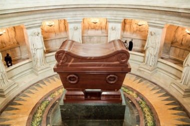 Dónde está enterrado Napoleón