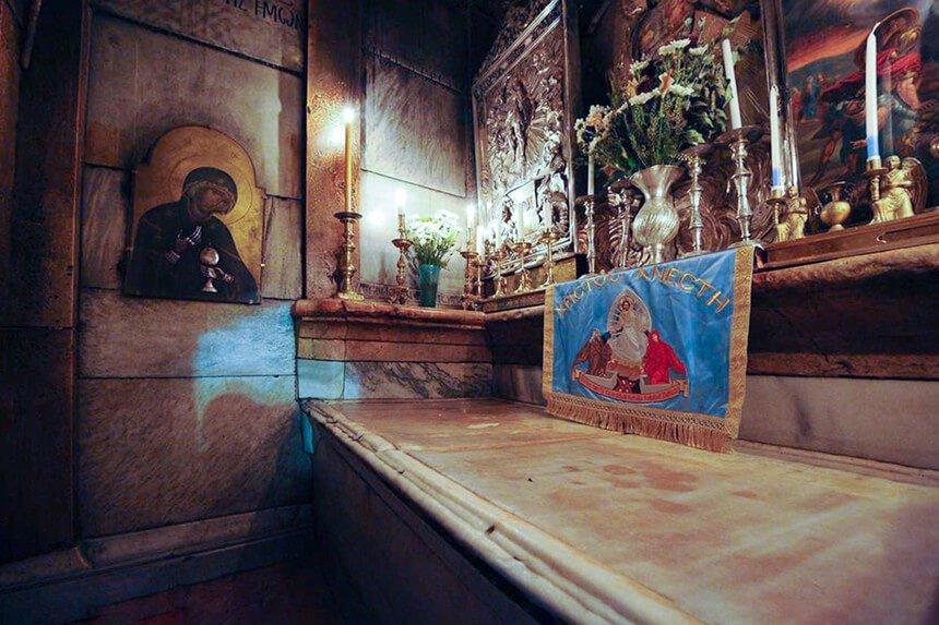 Dónde está enterrado Jesucristo