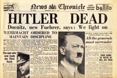Donde esta enterrado Hitler