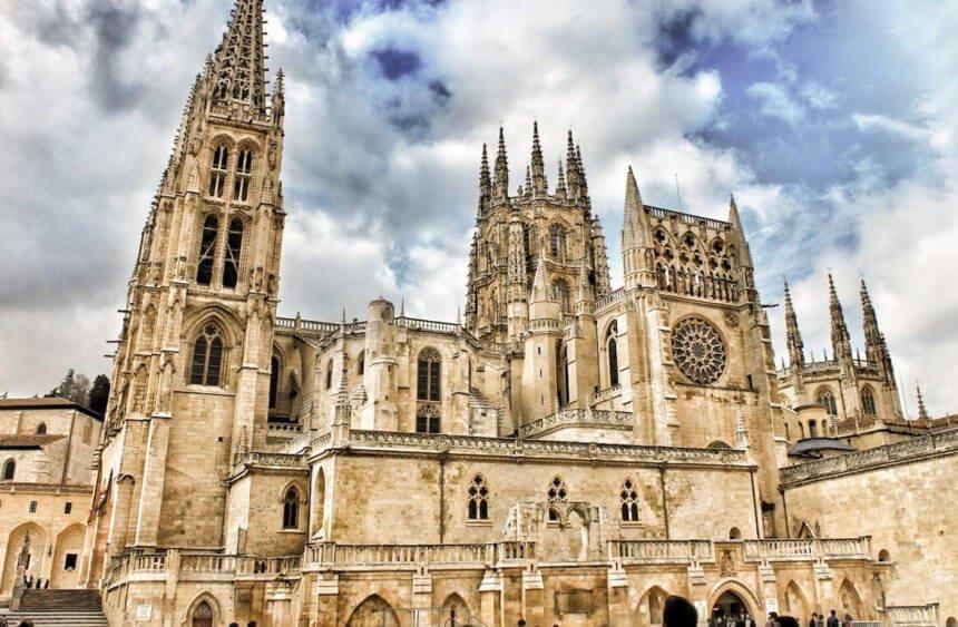 Catedral de Burgos, donde se encuentra la tumba del Cid Campeador