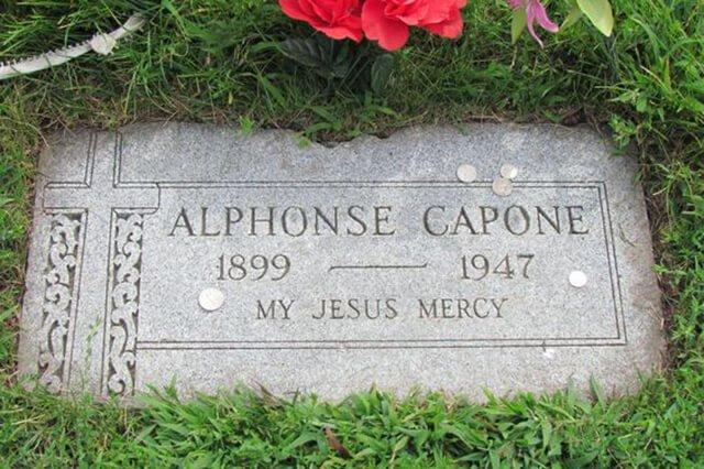 Lápida de Al Capone