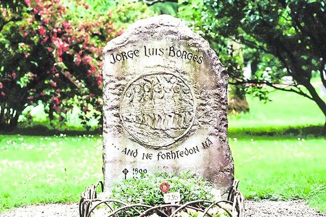 Lápida de Borges