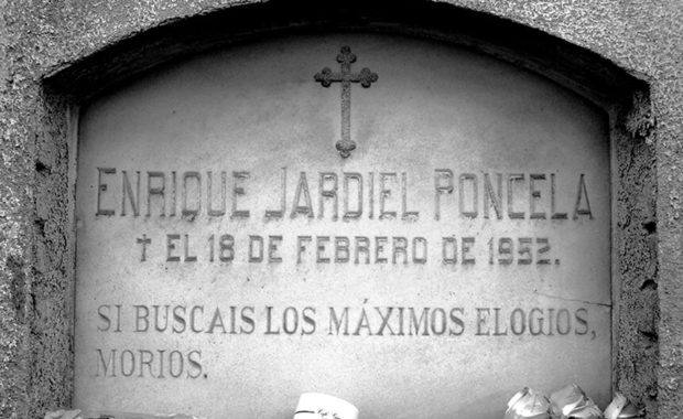 Lápida de Enrique Jardien Poncela