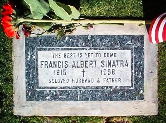 Lápida de Frank Sinatra