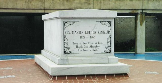 Tumba de Martin Luther King