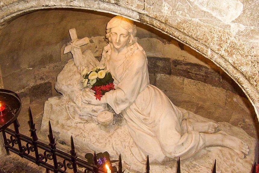 Imagen de Santa María Magdalena. Basílica de Saint Maximin la Sainte Baume