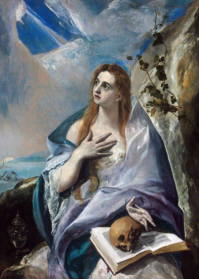 María Magdalena Penitente, por El Greco - Wikipedia