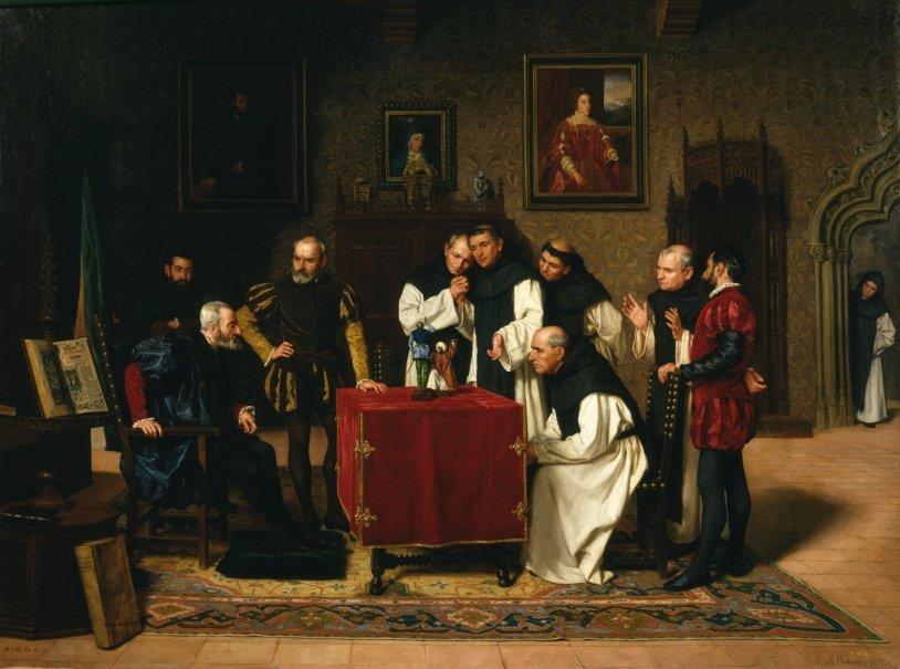 Carlos V en Yuste