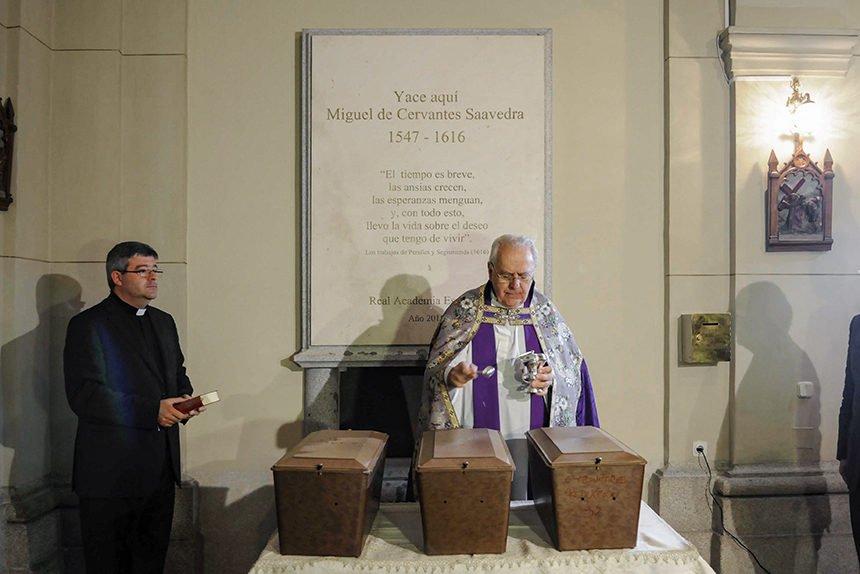 Donde se encuentra enterrado Miguel de Cervantes