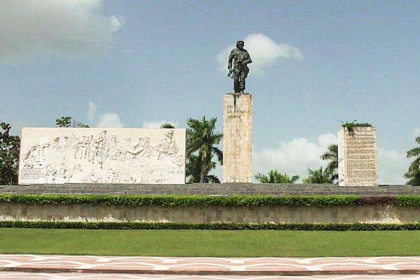 Mausoleo donde esta enterrado el che guevara