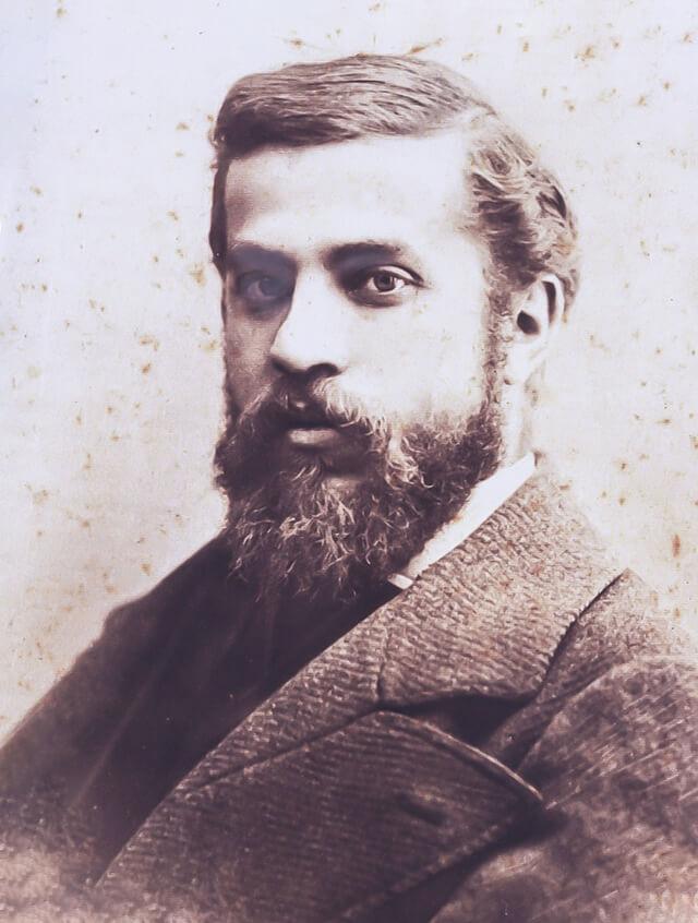 Retrato del arquitecto Antonio Gaudí