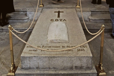 El lugar donde está enterrado Goya