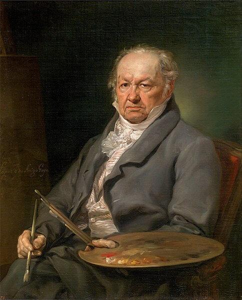 Retrato de Goya por Vicente Lopez Portaña