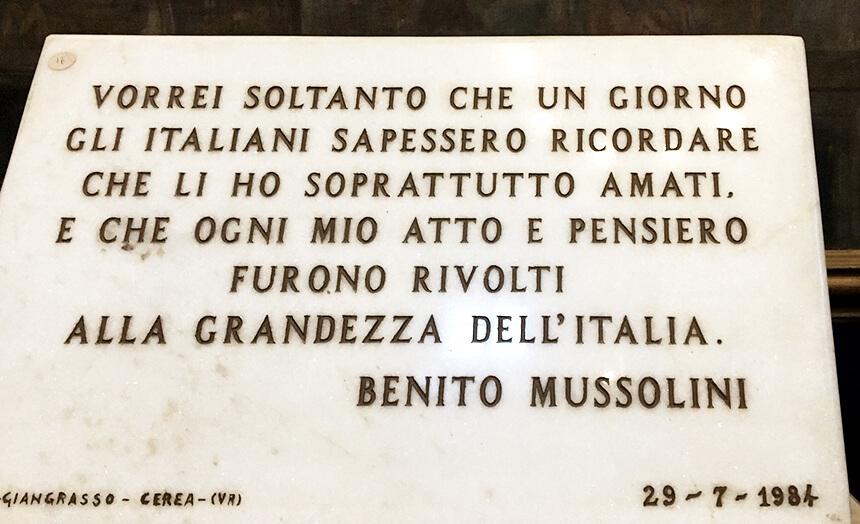 frases famosas de benito mussolini